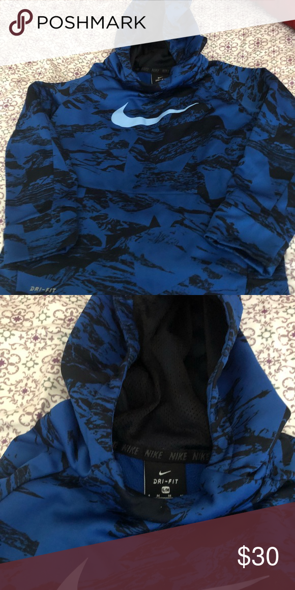 fb67d4c6 Kids dri fit Nike hoodie Great condition. No wear,rips,stains etc. neutral  enough for a boy or a girl size (6 medium) Nike Shirts & Tops Sweatshirts &  ...