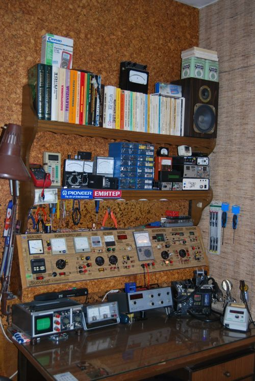 Bancada de eletronica | Oficina | Pinterest | Electronic workbench ...