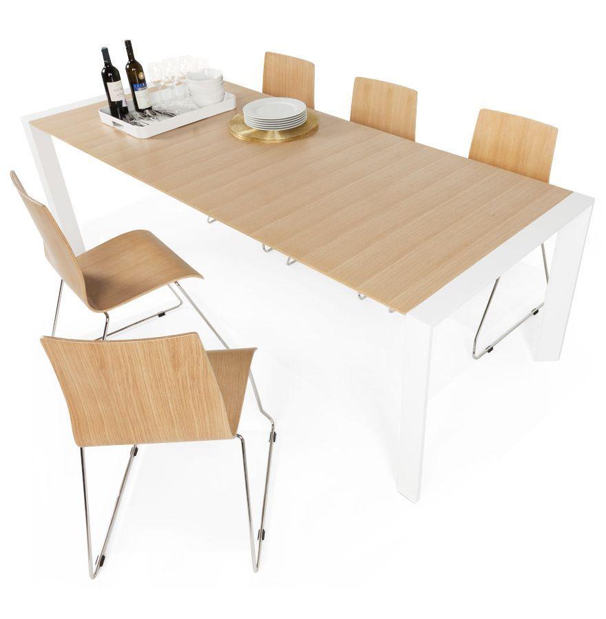 Table Repas Extensible 12 Personnes En Bois Et Métal Tables Salle