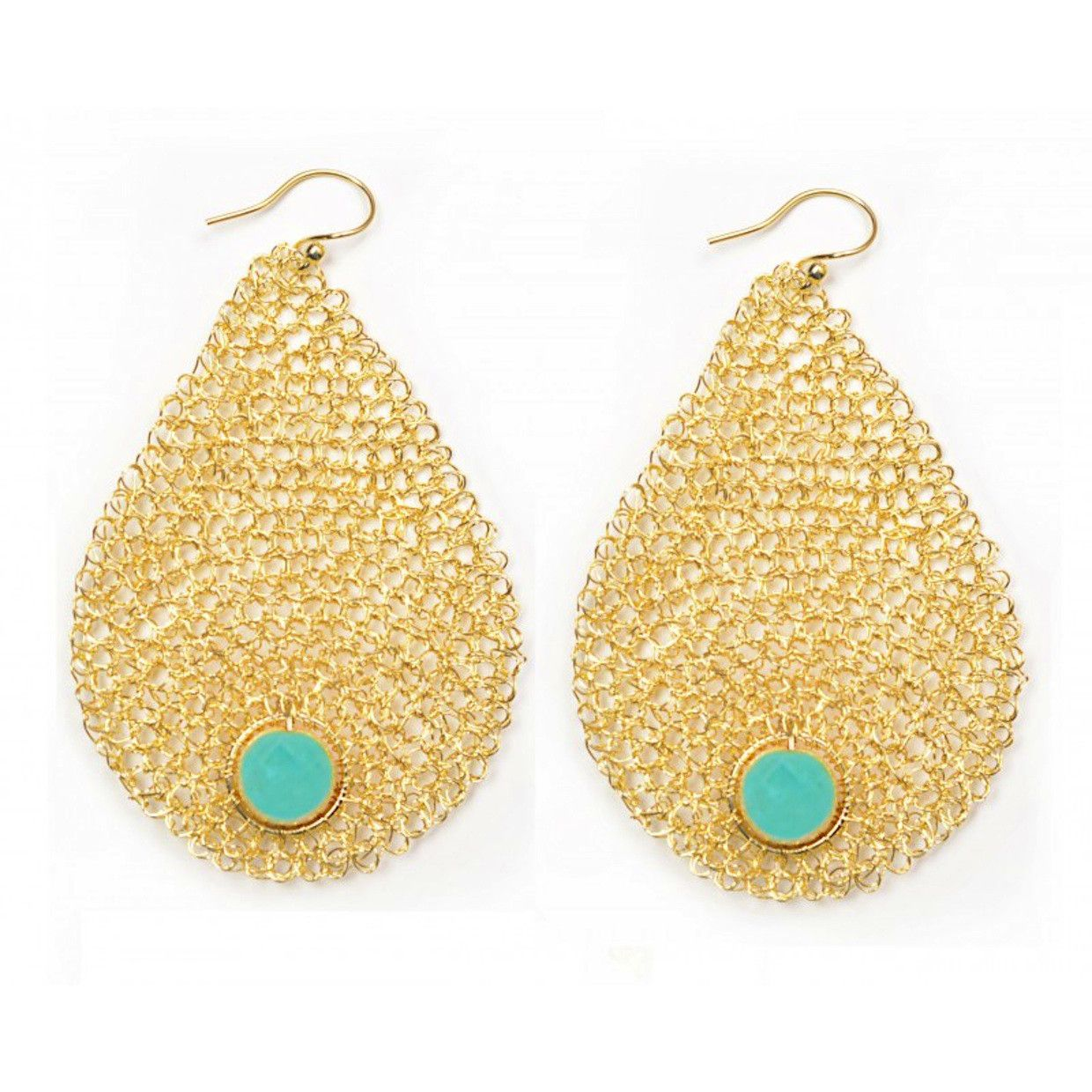 Divya wore these Teardrop Earrings from Lavish on #RoyalPains. Gorgeous! #Gift #Style