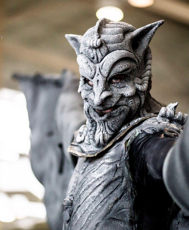 Gargoyle cosplay, Mineralblu Photography at Dallas Comic