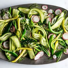 The Crunchiest Vegetable Salad Recipe