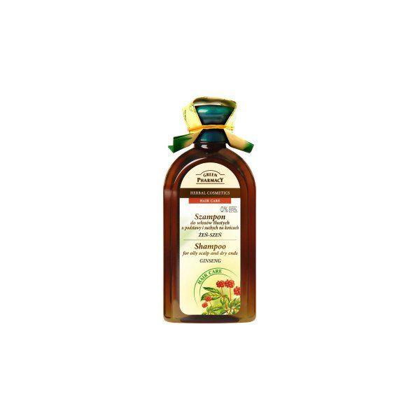 Champu Ginseng Para Cabello Graso Green Pharmacy En 2020
