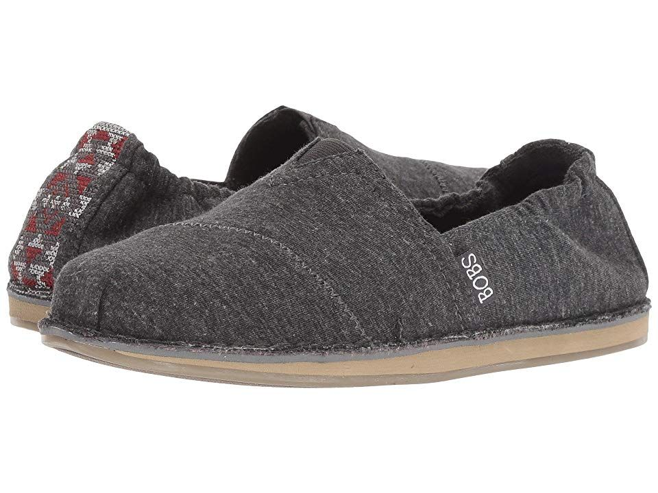 07a2e7738268 BOBS from SKECHERS Bobs Chill - Bohemian Alley Women s Slip on Shoes  Charcoal
