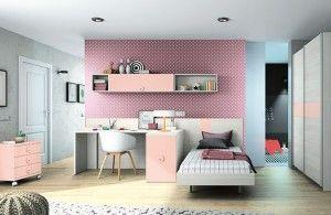 El top 5 en dormitorios juveniles para chicas