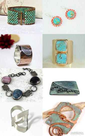 Earthy Adornments for You! by Cathy on Etsy--Pinned with TreasuryPin.com