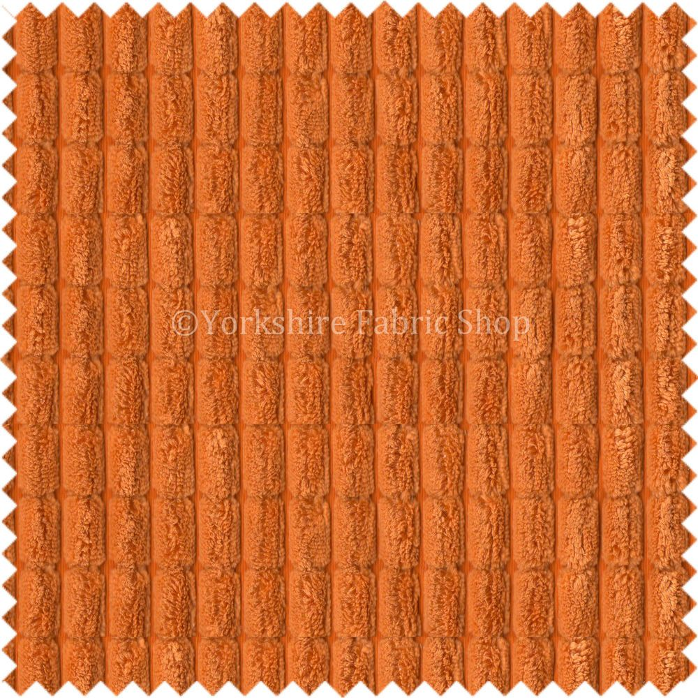 Soft Cord Corduroy Brick Waffle Texture Upholstery Material Sand Cream Fabric