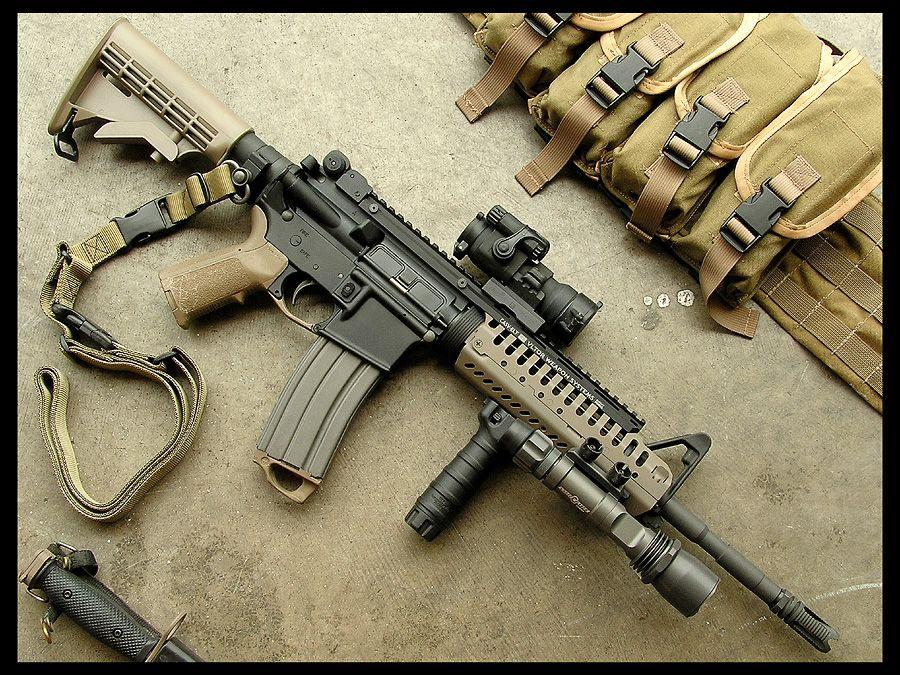 Vltor Casv El Firearms Guns Assault Rifle Weapons