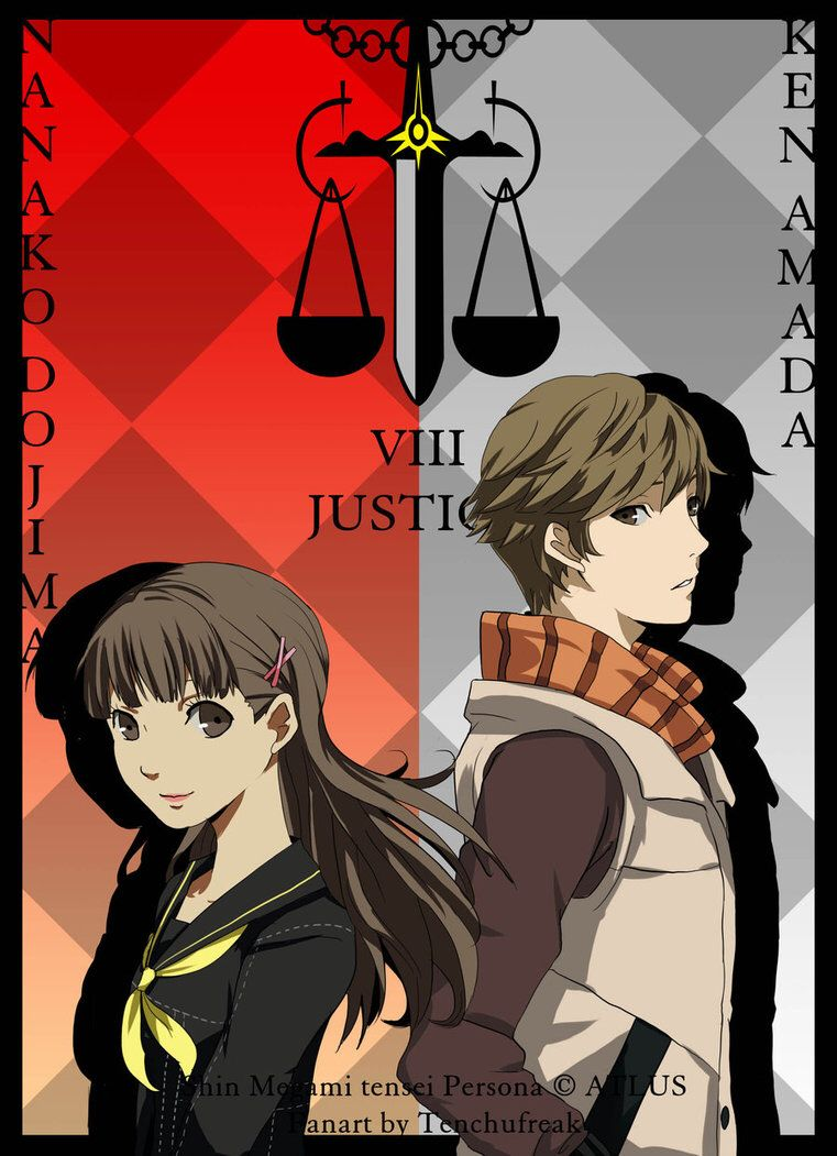 Persona Nanako and Ken Persona, Persona 4, Anime