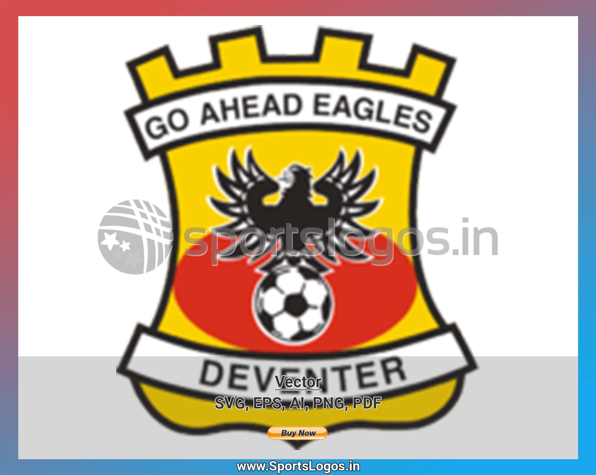 Go Ahead Eagles Soccer Sports Vector Svg Logo In 5 Formats Spln001621 Sports Logos Embroidery Vector For Nfl Nba Nhl Mlb Milb And More Eagles Vs Eagles Embroidery Logo