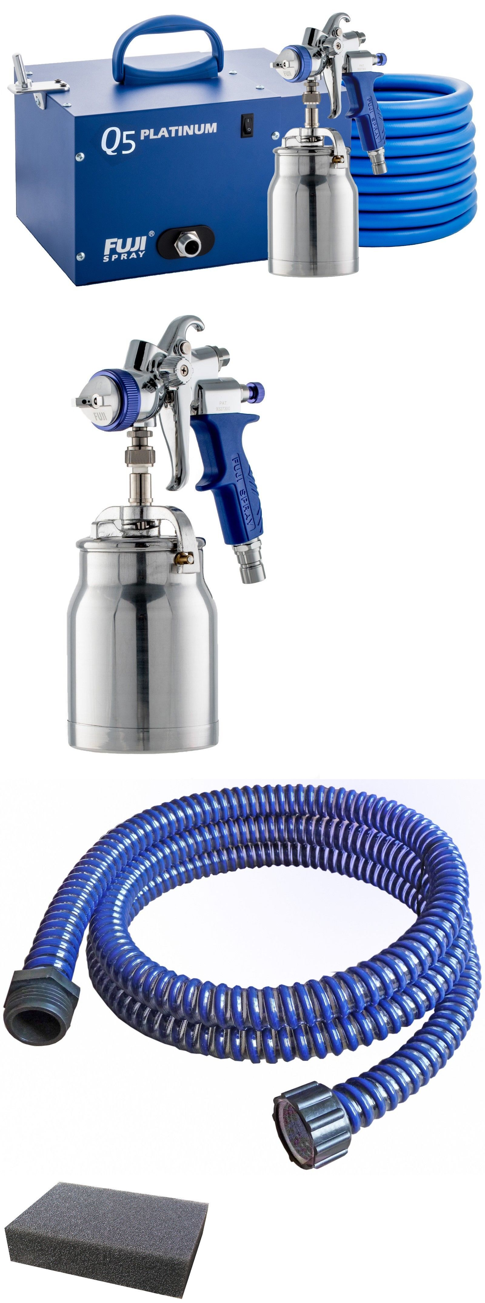 Paint Sprayers 79702 3005 T70 Fuji Spray Q5 Platinum Hvlp System With Free 5 For 5 Pack Buy It Now Only 1349 On Ebay Pa Paint Sprayer Spray Sprayers