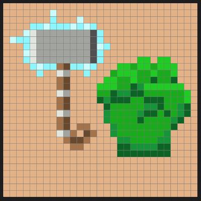 Avengers Icons Perler Bead Pixel Pop Art Patterns - Pixel