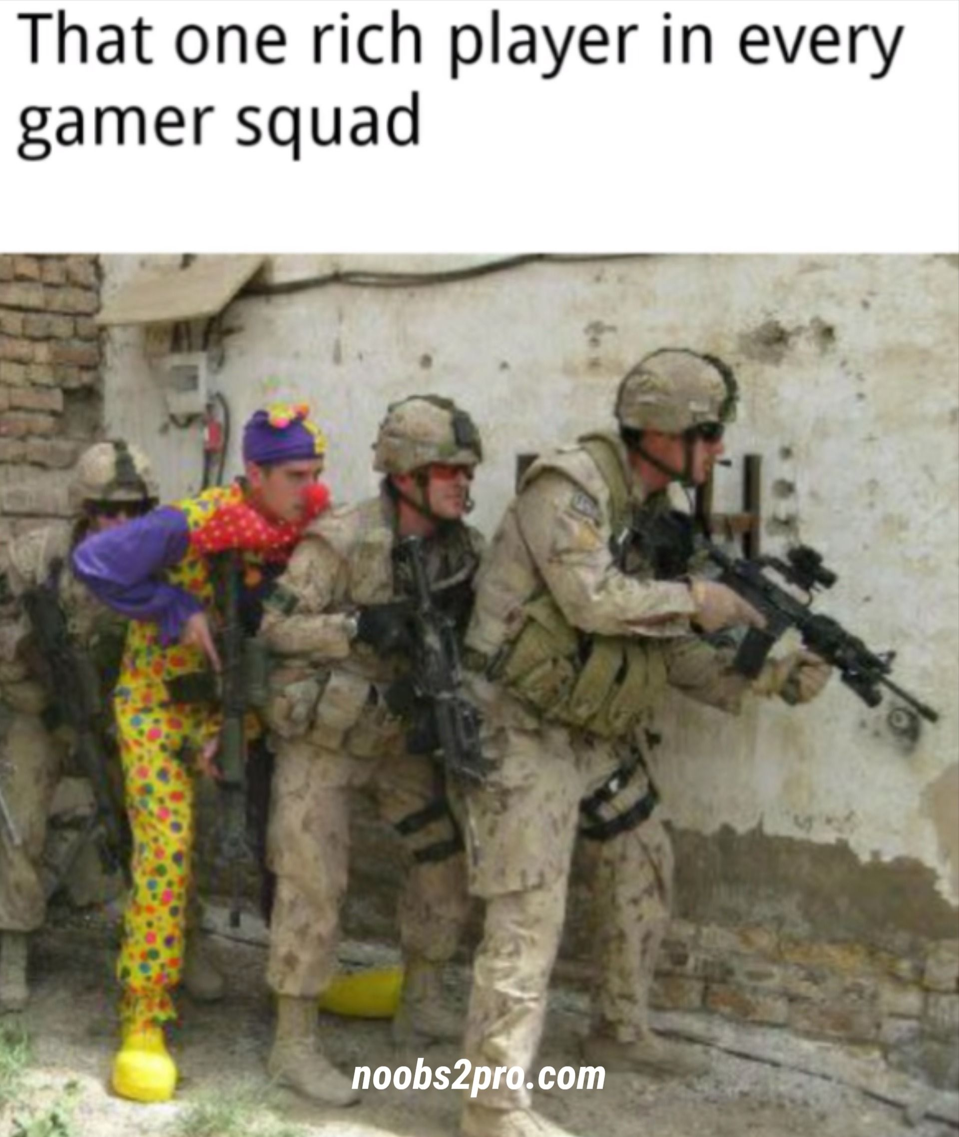 That One Rich Friend Gaming Memes Squad Game Memes