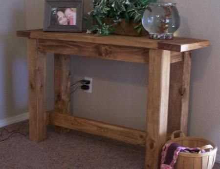Diy furniture plan from ana this rustic solid for 2x4 furniture plans free