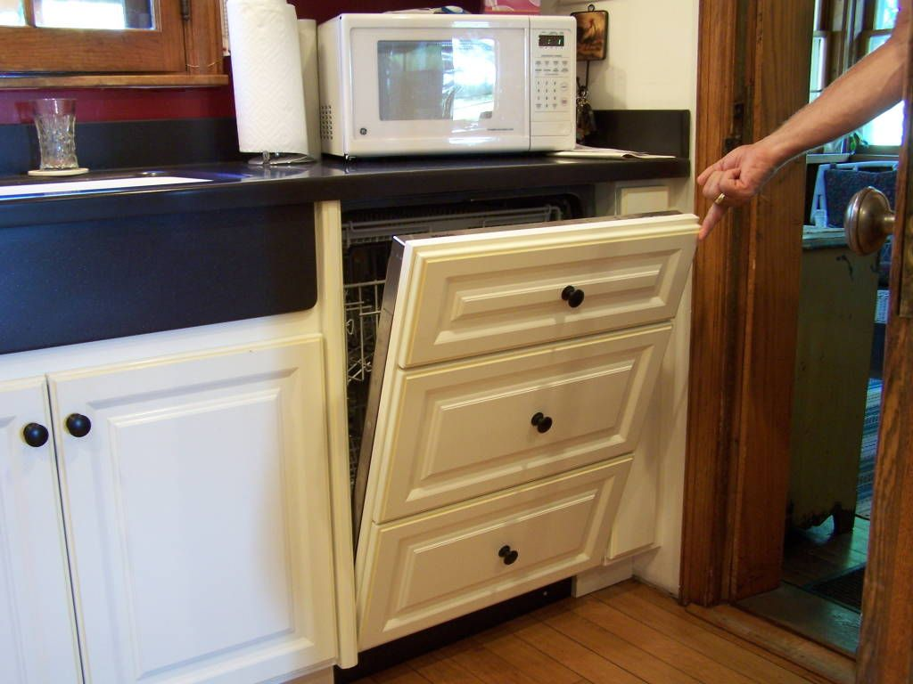 Cabinetry Panels For Refrigerator Doors Under Counter Dishwasher Drawers