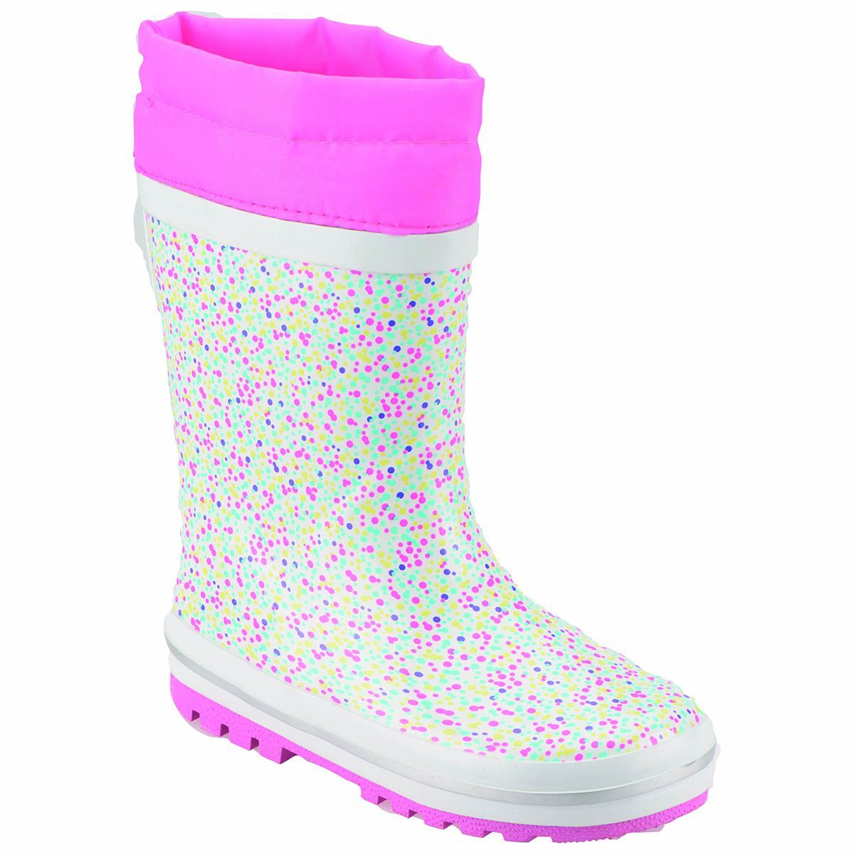 Pink Step A3310346 Beyaz Kız Çocuk Yağmur Çizmesi