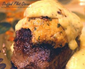 Dinner for Two: Stuffed Filet Mignon Oscar