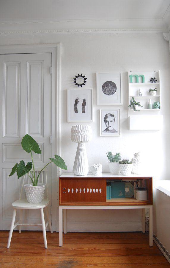 ○ So lange Einrichtungsideen, Wandgestaltung und Retro