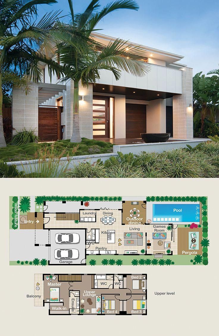 All bedrooms are upstairs but downstairs is designed to be an entertainer   dream also architectural designs modern house plan ms gives you over rh pinterest