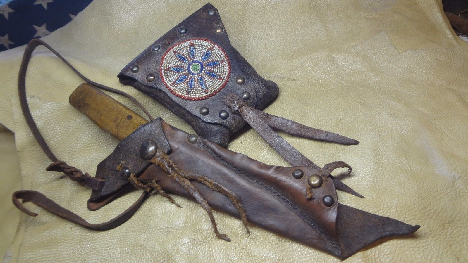Primitive Knife Primitive Fur Trade Knife Mountain Man Rendezvous Knife
