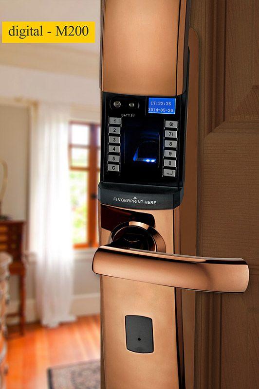 M200 fingerprint scanner door lock with CE certificate & M200 fingerprint scanner door lock with CE certificate   DIGITAL ...