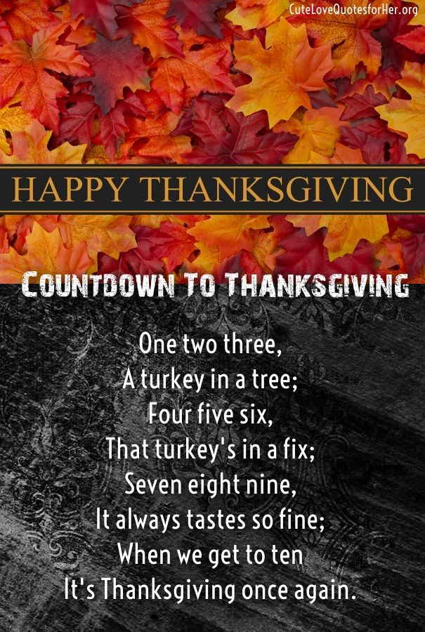 Thanksgiving Love Poems For Him Thanksgiving Wishes Quotes 2018