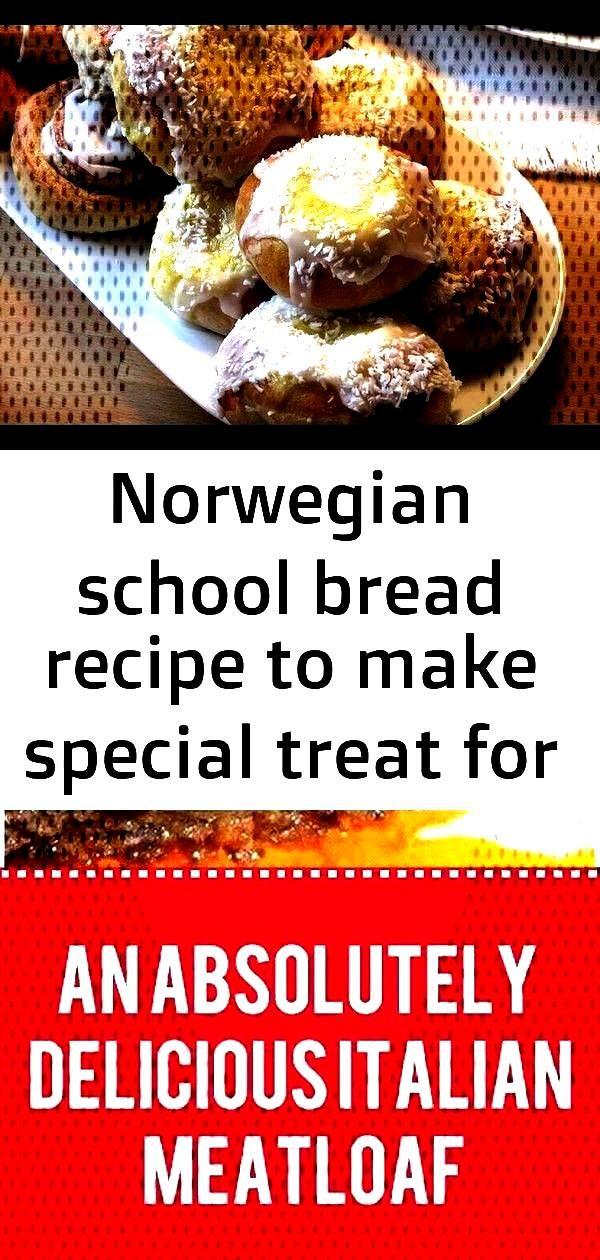 Norwegian school bread recip...