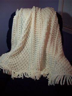 Crochet Aran Baby Blanket Pattern : *Free Crochet Pattern: Aran Afghan by Priscilla Hewitt ...