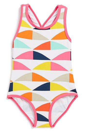 1e2be52ecd Marimekko 'Polsku' One-Piece Swimsuit (Baby Girls) available at #Nordstrom.