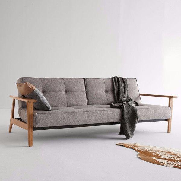 Splitback frej sleeper sofa Sleeper sofas, Daybed and Living rooms