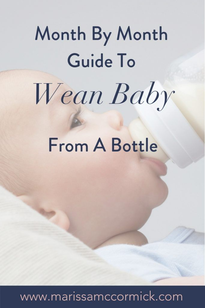 How and When To Wean Baby From A Bottle   Weaning from ...