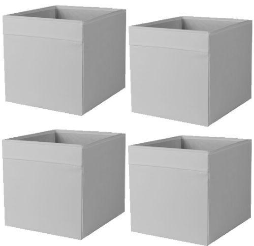 New For 2017 Ikea Drona Fabric Storage Box Grey Brown Red Orange Green 2 3 4 8