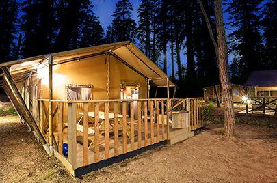 Safaritent Serengeti / luxe tent op een c&ing - Vacansoleil & Safaritent Serengeti / luxe tent op een camping - Vacansoleil ...
