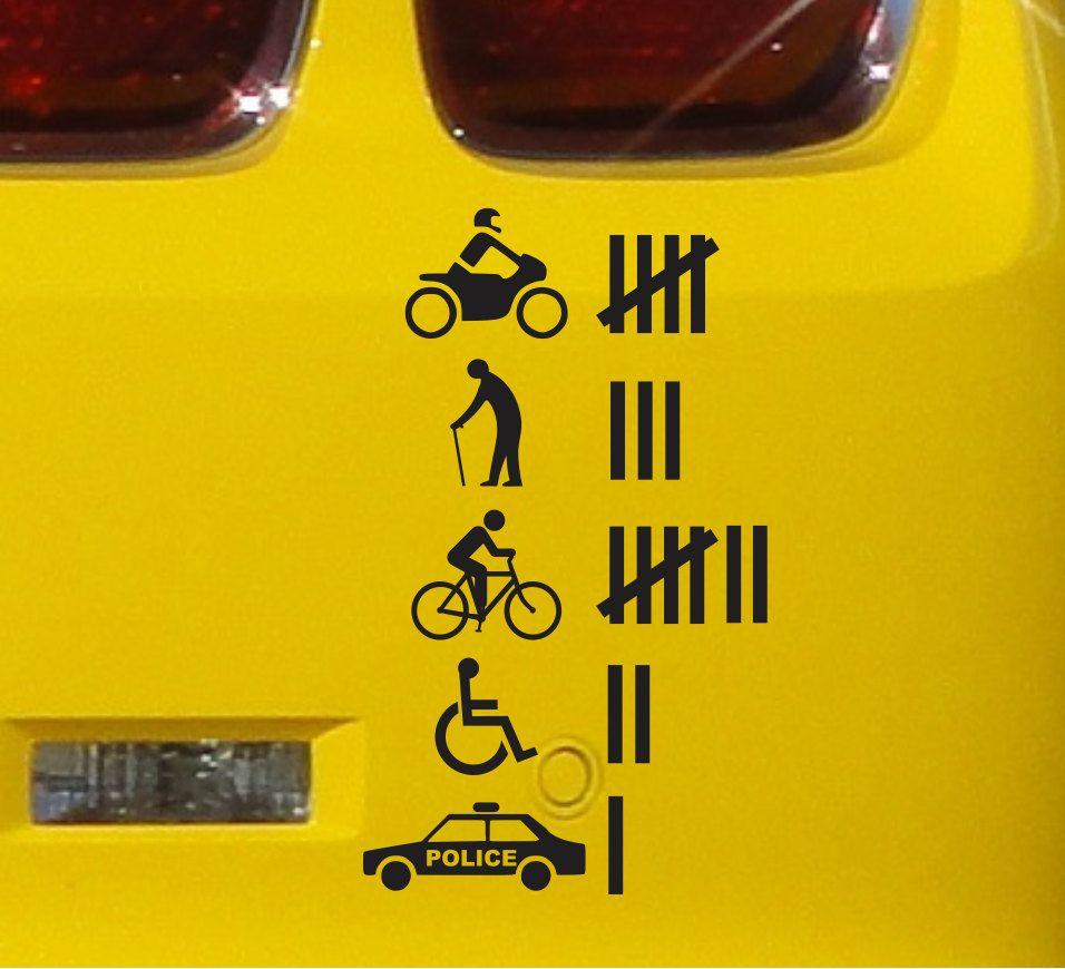 Accident Hit Kill Count Funny Bumper Sticker Vinyl Decal Jdm Etsy Funny Bumper Stickers Jdm Stickers Bumper Stickers [ 870 x 956 Pixel ]