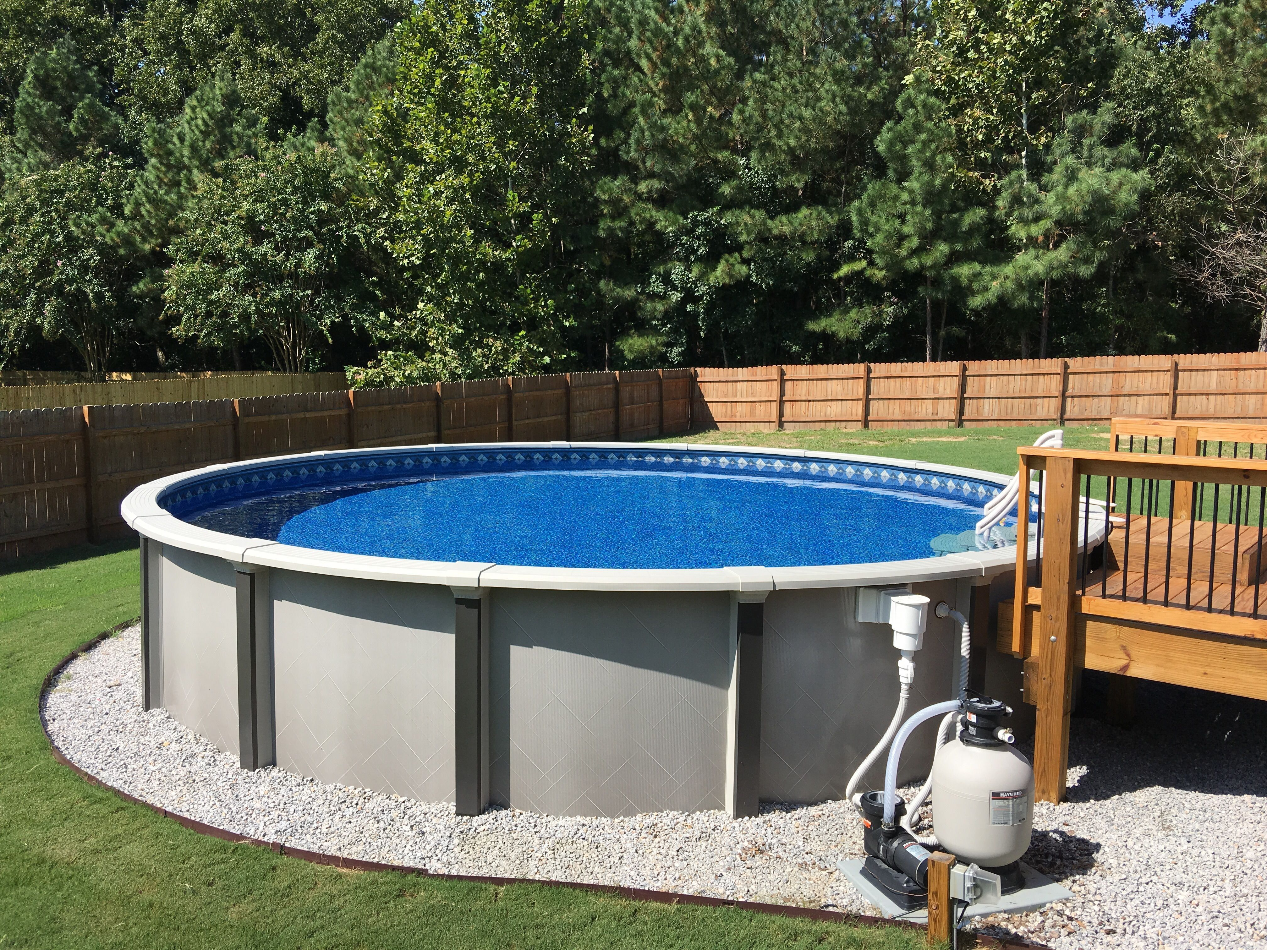 15 Above Ground Pool Ideas That Are Unbelievably Outstanding Archlux Net Best Above Ground Pool Backyard Pool Backyard Pool Landscaping