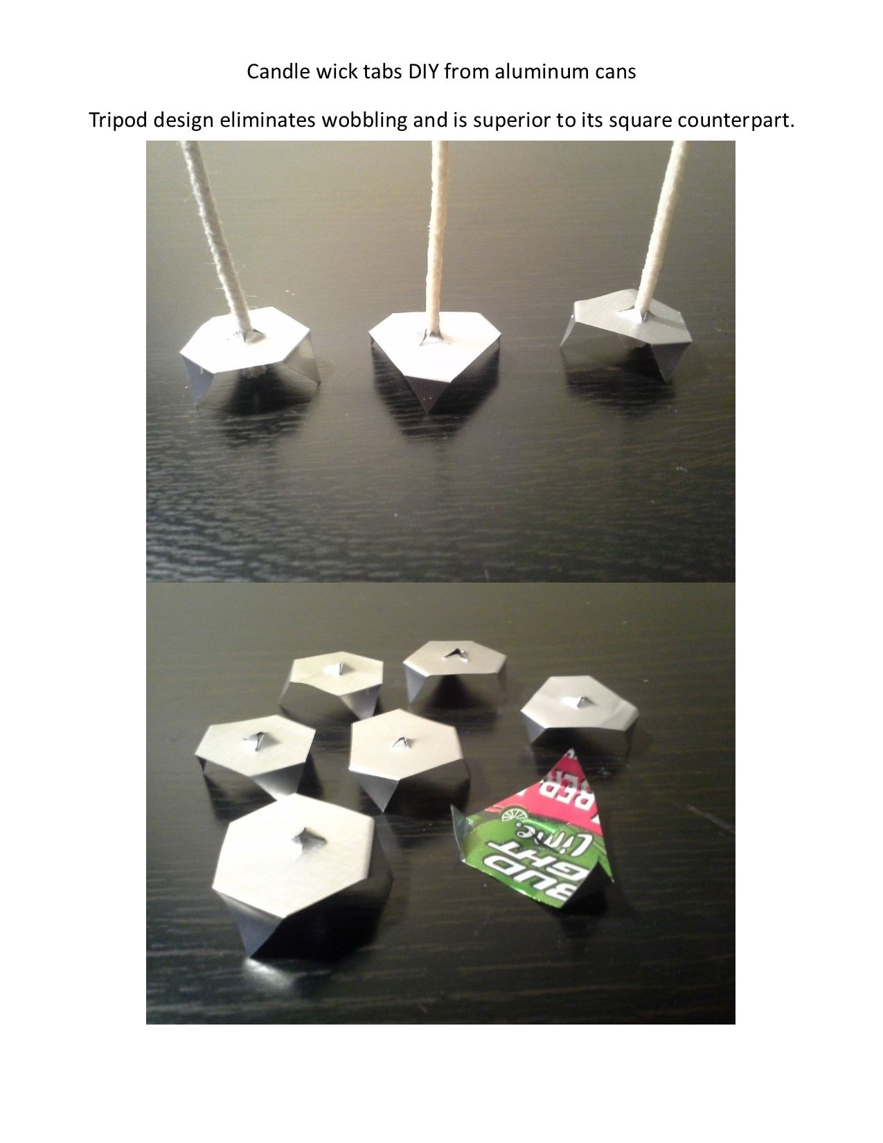 Candle wick tabs DIY Wick tabs, Candlewicking, Candles
