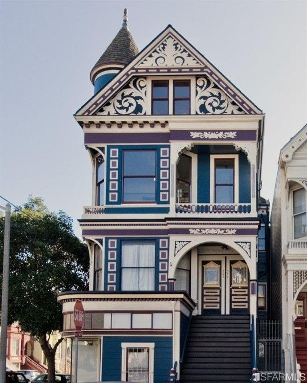 560 lyon st san francisco ca 94117 victorian other unique homes pinterest. Black Bedroom Furniture Sets. Home Design Ideas