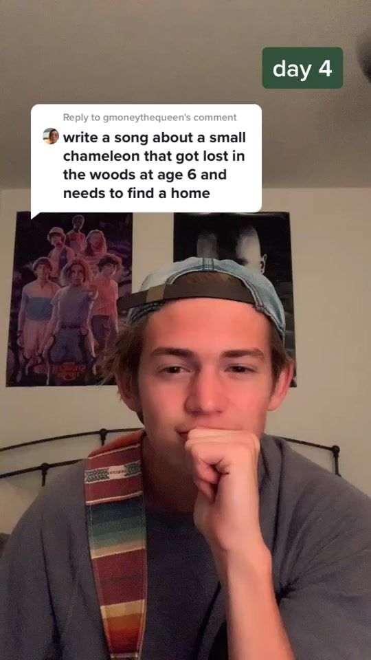 Jimmy The Chameleon Created By Bennett Woolsey Popular Songs On Tiktok In 2021 Singing Videos Good Vibe Songs Cool Music Videos