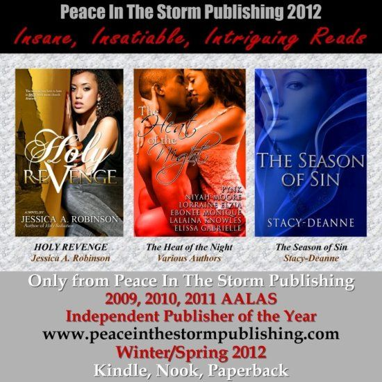 Peace in the Storm Publishing Spring 2012 Titles