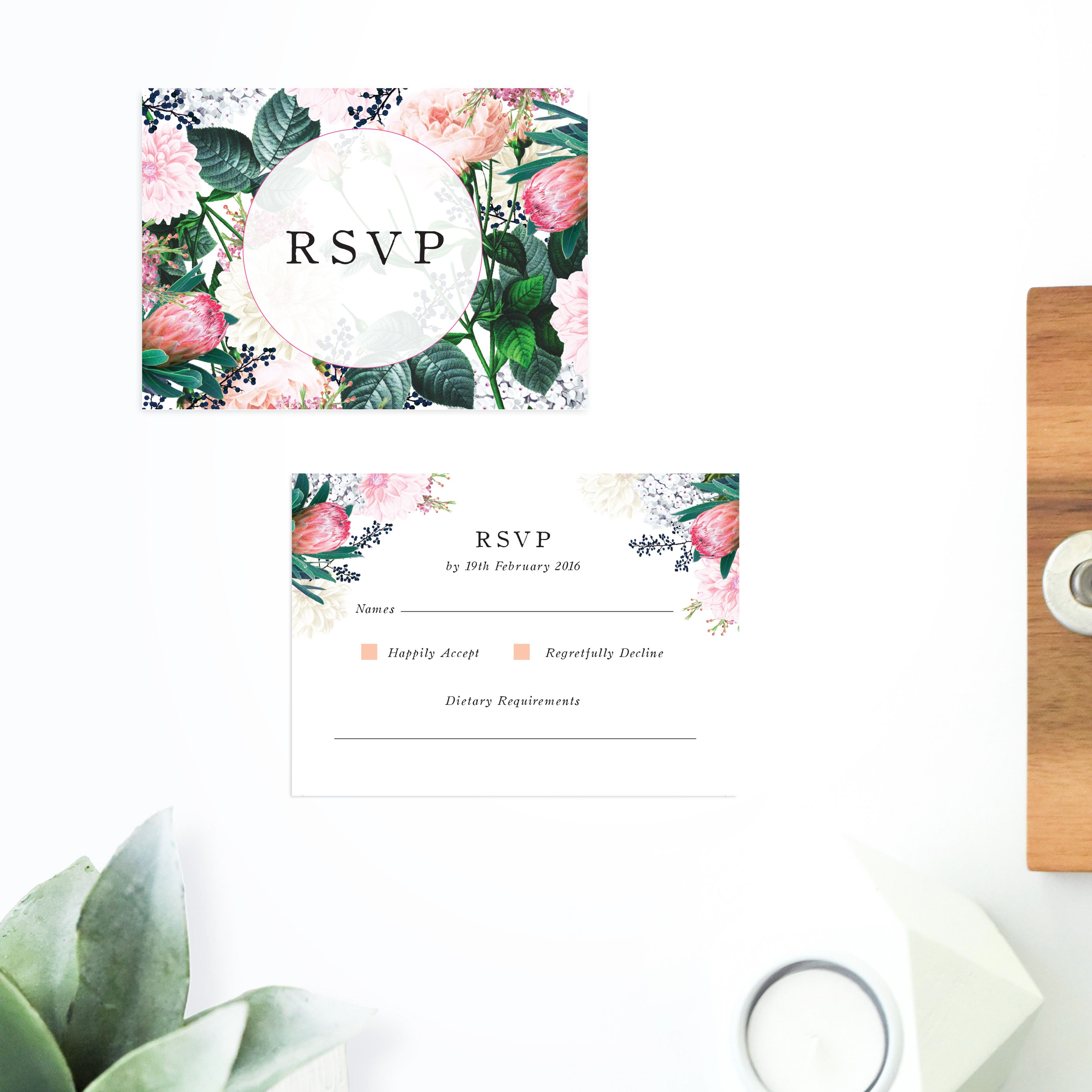 Online Shop - Floral Wedding Invitations | Floral wedding, Wedding ...