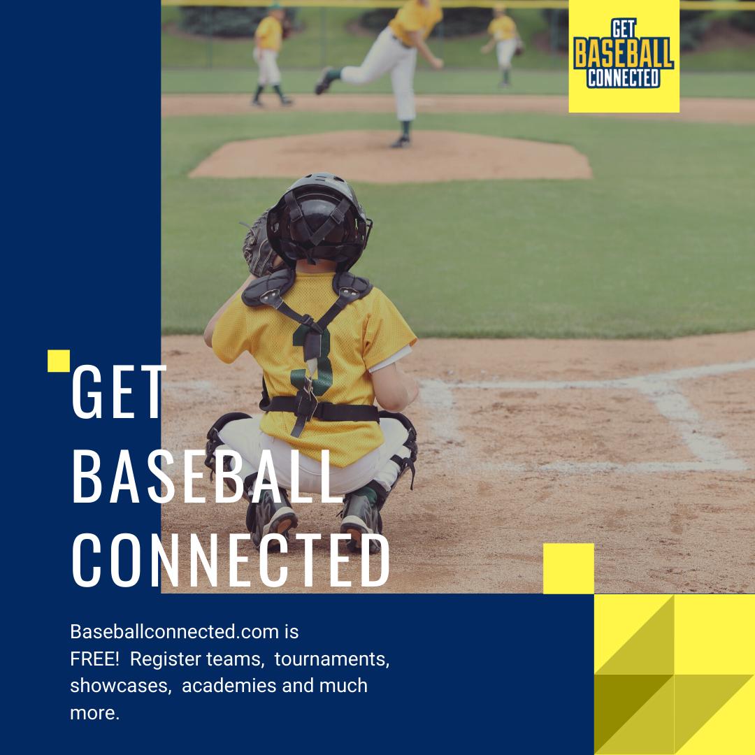 Get Baseball Connected In 2020 Youth Baseball Baseball Training Baseball