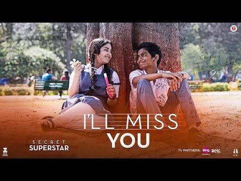 Awsomeill Miss You Secret Superstar Aamir Khan Zaira