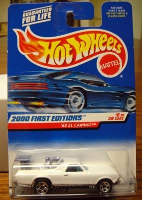 hot wheels 1998 first editions 1968 el camino free shipping nicks rh pinterest com