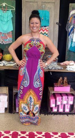 56dce64397e4c Bahama Mama Maxi Dress | Products | Dresses, Bahama mama, Formal dresses