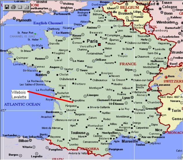 Southwest france map yahoo search results maps for Travel south of france