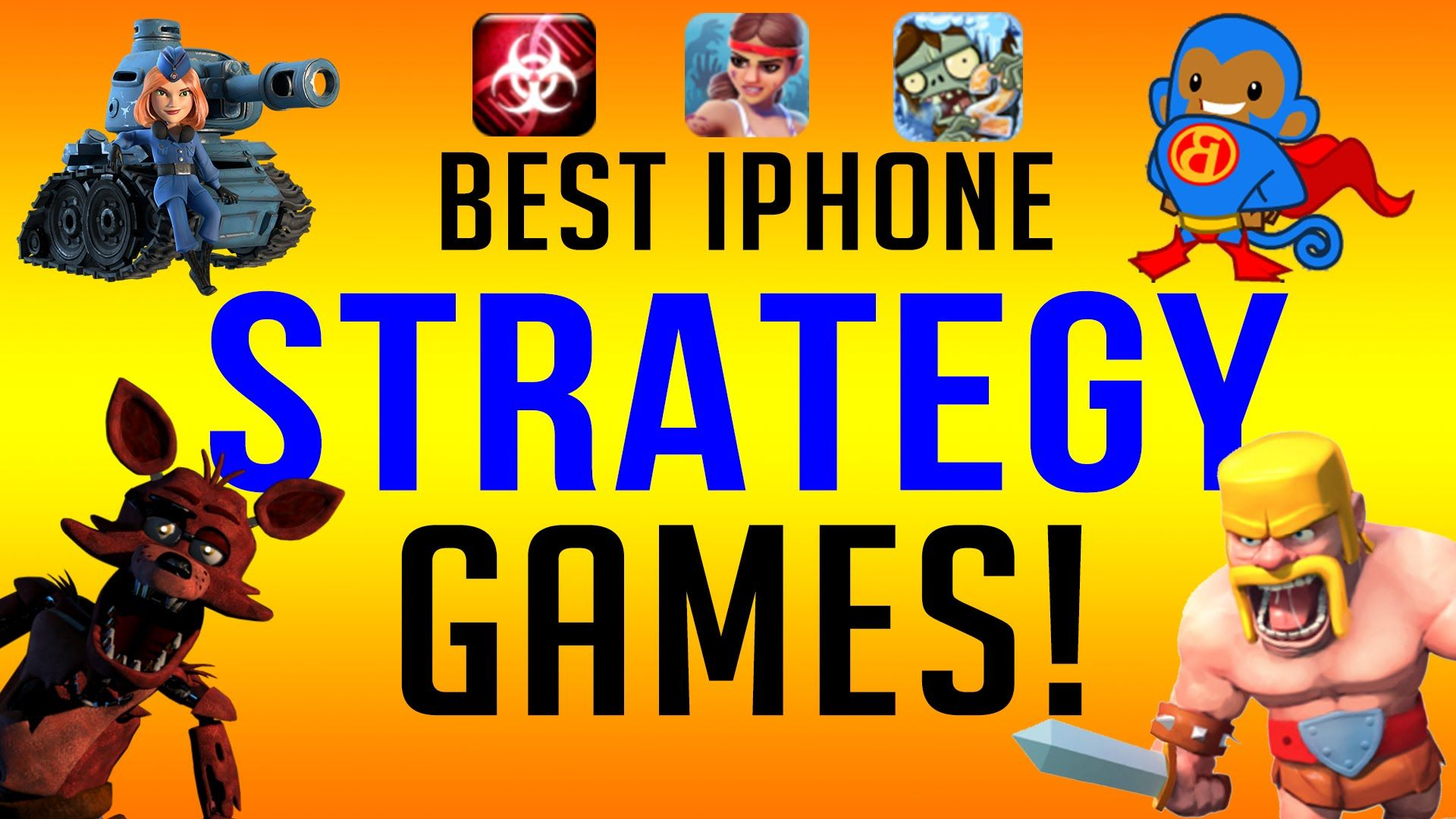 Top 11 Best iPhone Strategy Games EVER!!! (มีรูปภาพ)