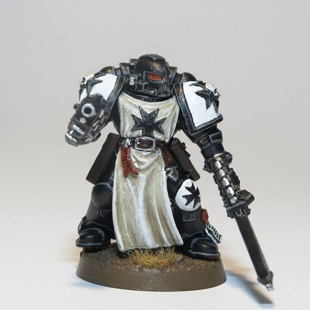 Black Templar Space Marine Miniature
