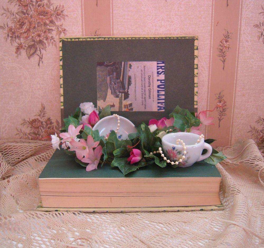 LITERARY GARDENS Volume 2 Flowers & T-Cup Book Display