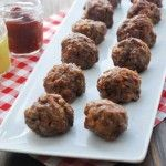Baked Cocktail Meatballs