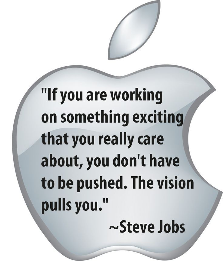 The Vision And Caring That Pulled Steve Jobs Were Bigger And